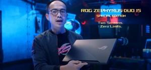 ASUS ROG Zephyrus Duo 15 оснащен новейшим мобильным процессором AMD Cezanne R9
