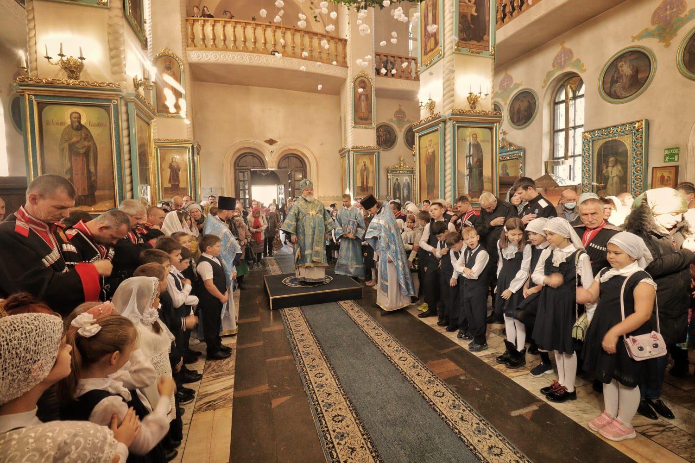 Покров Пресвятой Богородицы отмечают в Невинномысске
