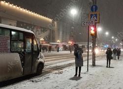 Снегопад. Мэрия напомнила телефоны 'горячих линий'