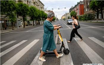 Перекрытый Мира, жара и дождь: эксперты выяснили, что влияло на популярность самокатов в Красноярске