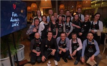 На благотворительном ужине известные красноярцы собрали около миллиона рублей для детей с сахарным диабетом