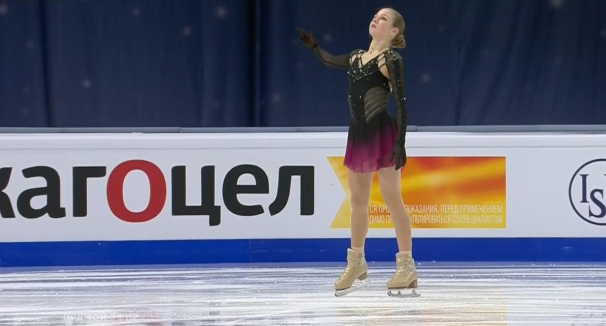 Александра Трусова назвала свои основные страхи