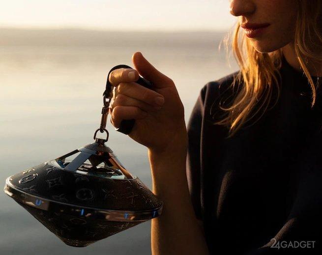 Портативная колонка от Louis Vuitton в форме «летающей тарелки» по цене 2900$ (4 фото)