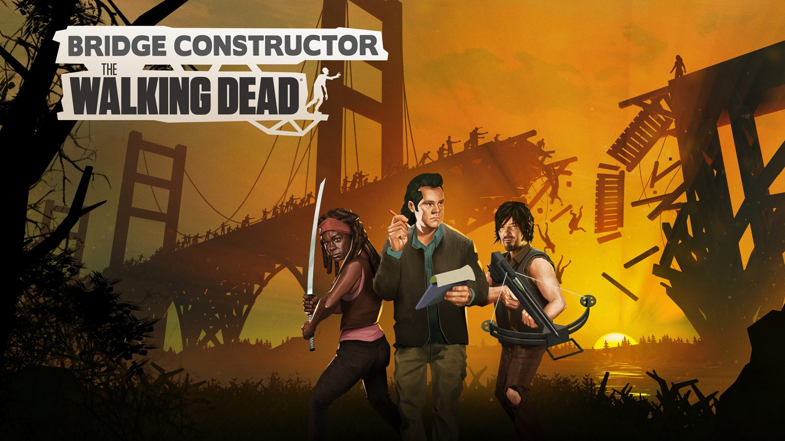 Bridge Constructor: The Walking Dead выйдет 19 ноября, но не на PlayStation 5