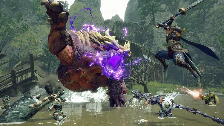 Демоверсия ролевого экшена Monster Hunter Rise вышла в Steam