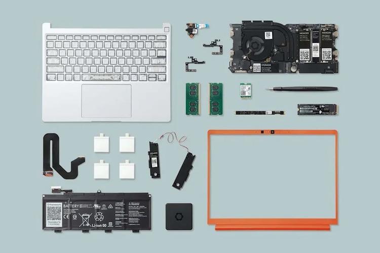 Framework начала продавать сменные компоненты и запчасти для своего модульного ноутбука