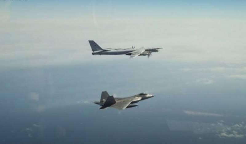 ВВС США заявили о возросшей активности российских самолётов рядом с побережьем Аляски