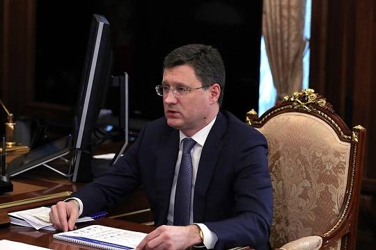 Новак заявил, что «Северный поток-2» будет готов к запуску в ближайшие дни