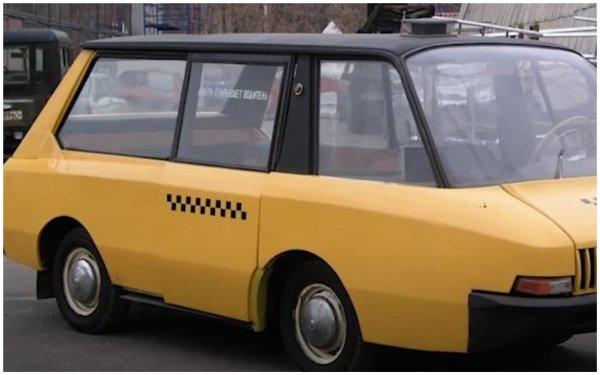 «Вспомнить всё»: В Сети показали «Перспективное такси» из СССР, которое не вошло серию, но «завалило» бы LADA Largus – уверены эксперты