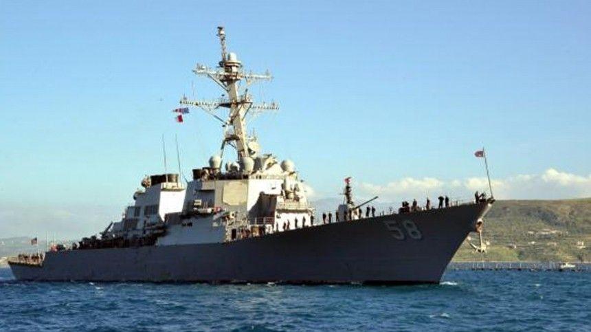 Черноморский флот приступил к слежению за эсминцем ВМС США «Лабун»