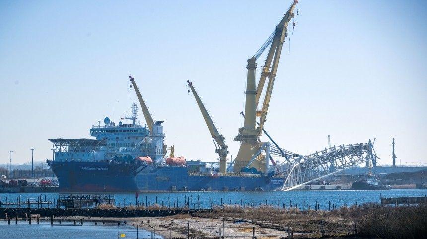В Кремле оценили переговоры США и ФРГ по «Северному потоку — 2»