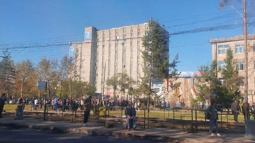 В Хабаровске студент угрожает взорвать здание университета