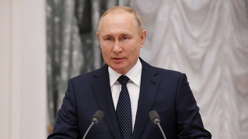 Путин обратился к россиянам по случаю предстоящих выборов