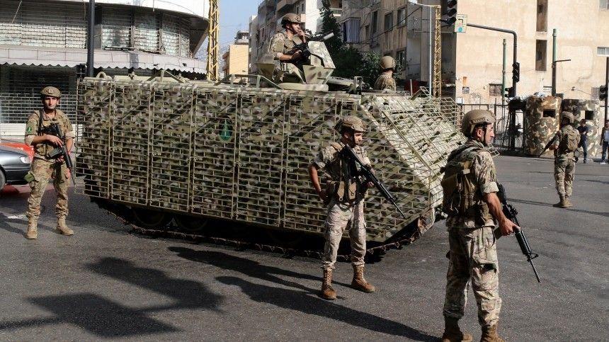 Военные ищут снайперов, обстрелявших демонстрантов в столице Ливана