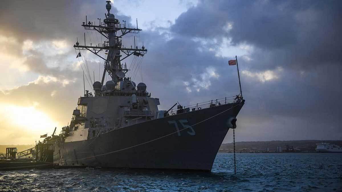 Пентагон объяснил, почему американские эсминцы «передумали» плыть на Чёрное море