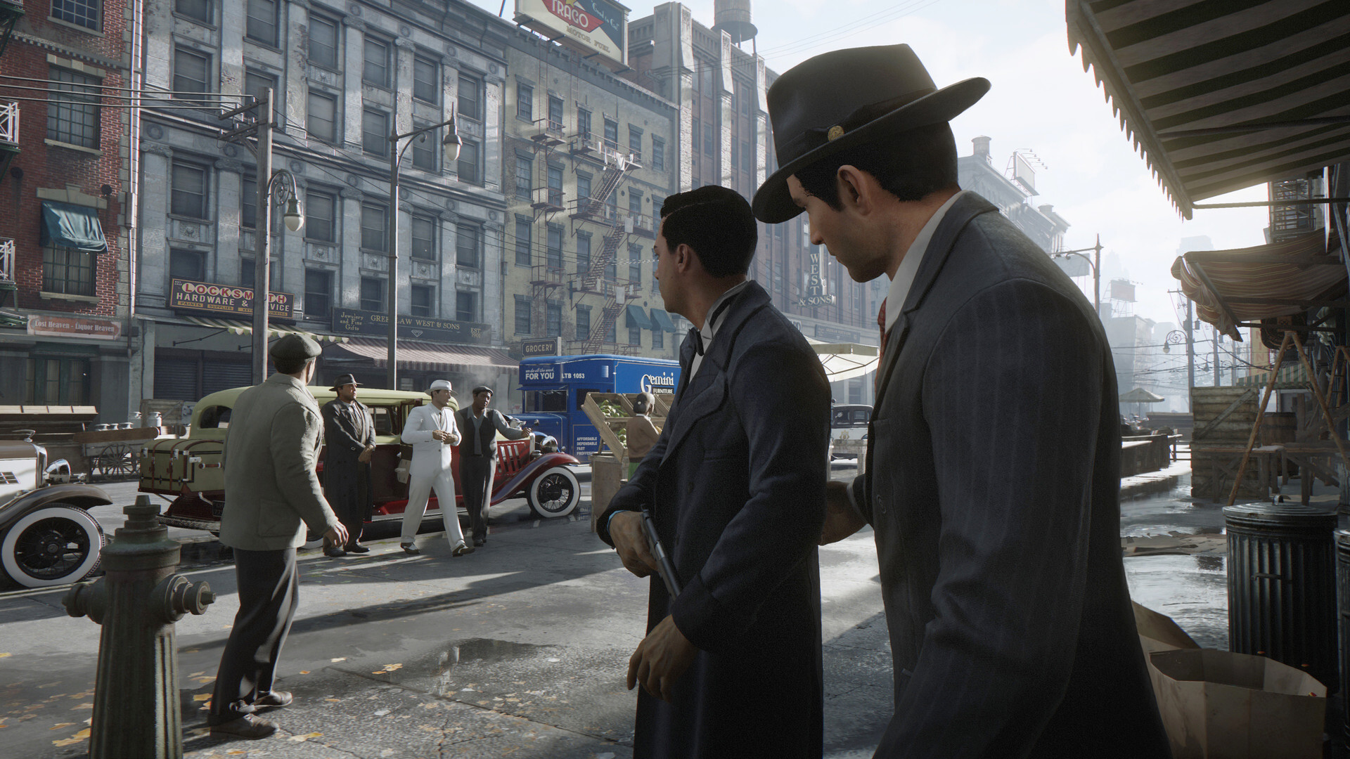 Steam со скидками распродаёт серию игр Mafia