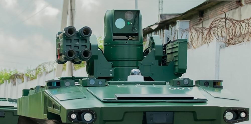 Российский робот-охранник заступил на боевое дежурство