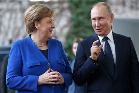 В ФРГ назвали 'подарком Меркель для Путина' соглашение по 'Северному потоку 2' с США