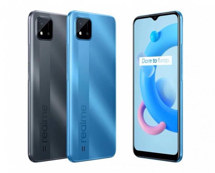 В России вышел смартфон Realme с NFC и аккумулятором ёмкостью 5000 мА•ч за 8500 рублей