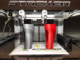 Стартовал приём заказов на 3D-принтер Stacker с раздельными печатающими головками