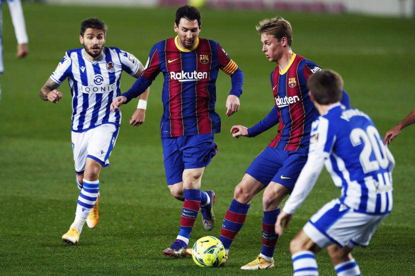 Футбол, Суперкубок Испании, полуфинал, Барселона - Реал Сосьедад, прямая текстовая онлайн трансляция