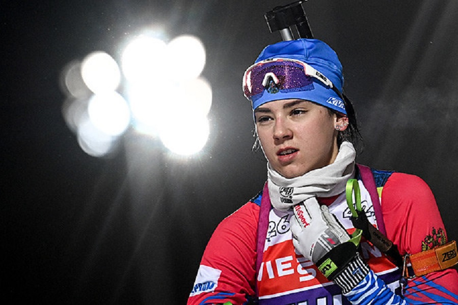 Гореева показала новую форму сборной России по биатлону (ФОТО)