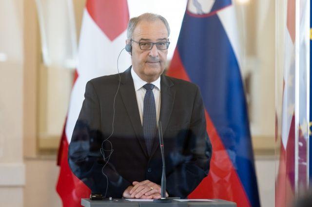 Президент Швейцарии рассчитывает на встречу с Путиным в Женеве