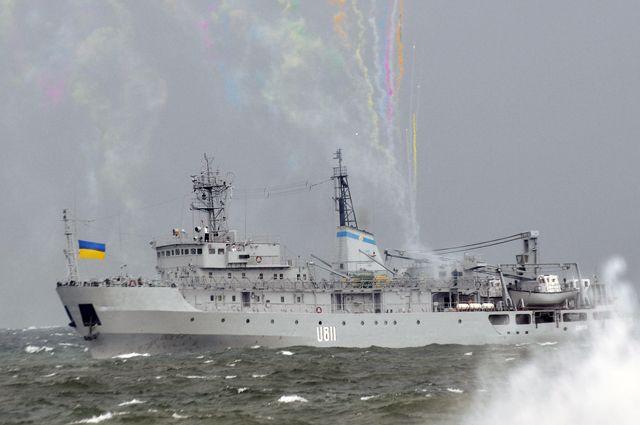 В Черном море, в белой пене... Что случилось с украинским кораблем «Балта»?
