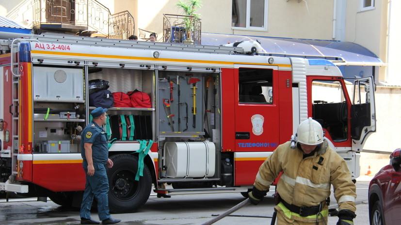 В Ленобласти два подростка погибли при пожаре