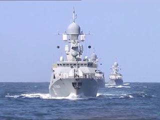 Корабли Каспийской флотилии перешли в Черное море