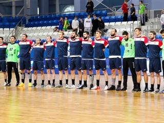 Российские гандболисты сыграли вничью с командой Белоруссии