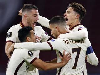 Лига Европы. 'Рома' увезла из Амстердама победу над 'Аяксом'