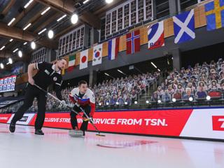 Россияне обыграли шотландцев на чемпионате мира по керлингу
