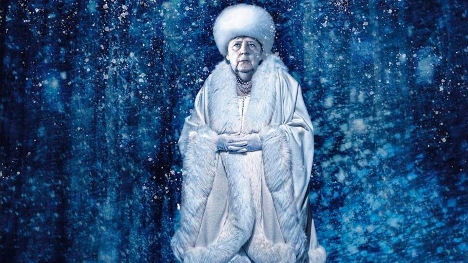 СМИ назвали Меркель 'холодной как лед'