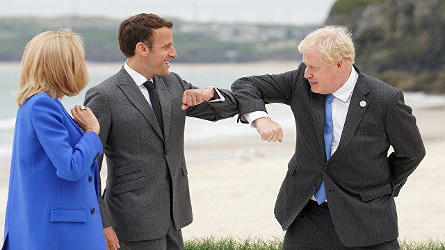 Надувные куклы и огромные птицы: как проходит саммит G7