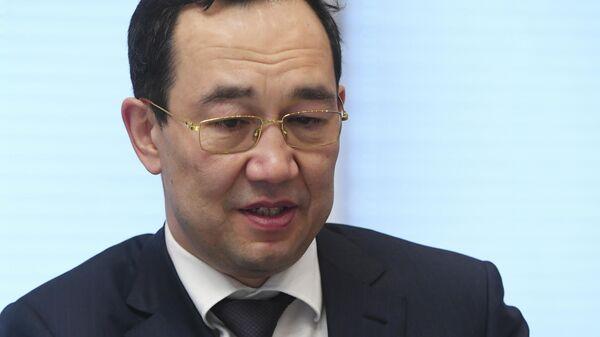 Глава Якутии первым среди губернаторов выступил с лекцией в ClubHouse