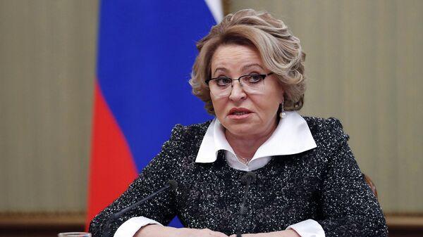 Матвиенко сравнила потери России от пандемии с другими странами