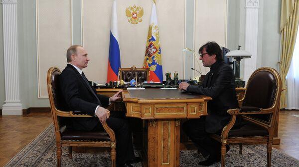 Путин объявил благодарность Башмету и Пускепалису