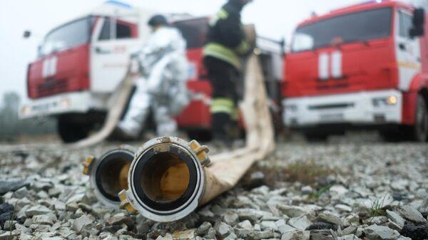 В Самарской области потушили пожар в садово-дачном товариществе