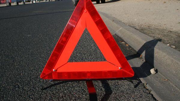 В Красноярске иномарка сбила проверявшего документы инспектора ГИБДД
