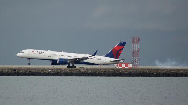 Boeing 757 совершил аварийную посадку в Солт-Лейк-Сити