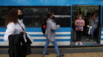 За сутки в Аргентине зафиксировали более 23 тысяч случаев COVID-19