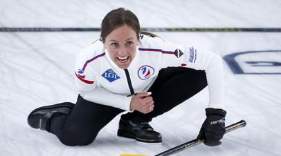 Женская сборная России одержала победу над командой Китая на ЧМ по кёрлингу