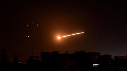 SANA: сирийские средства ПВО отражают воздушную атаку со стороны Израиля