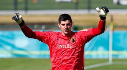 Куртуа: сборная Бельгии хочет выиграть Евро-2020
