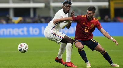Форвард сборной Испании Торрес сыграл с переломом стопы в финале Лиги наций