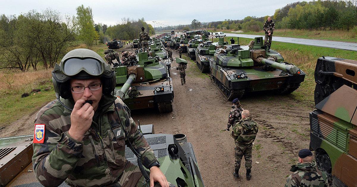 Армия ЕС в действии: Брюссель намерен отправить военных к путинским границами в условиях усиления конфликта с Россией (Daily Express, Великобритания) (Daily Express)