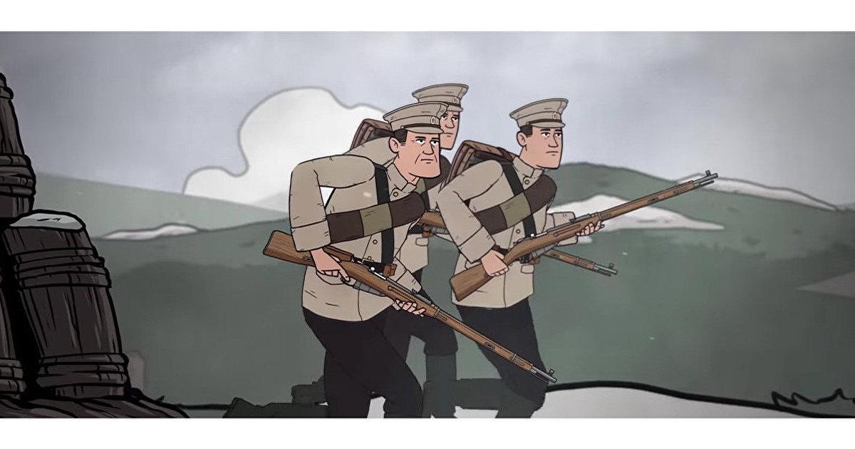 Armchair History TV (США): эволюция формы советской и российской армии. Анимированная история (Armchair History TV)