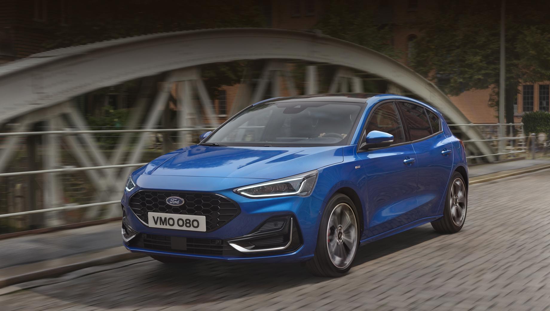 Обновлённый Ford Focus разжился новыми силовыми установками