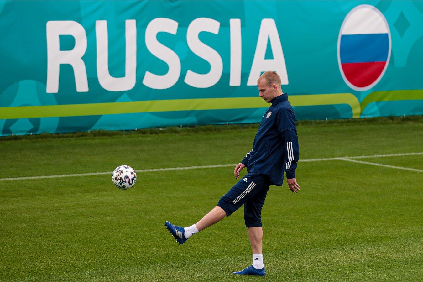 Роман Евгеньев прибыл в расположение сборной России